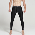 2 pieces lot Top Quality Men s Compression Pants Sports Running Tights Basketball Leggings Gym
