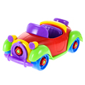Kids Car Toys Multi Color Funny Baby ABS Plastic Car Airplane Puzzle Toy Assembly Early Children