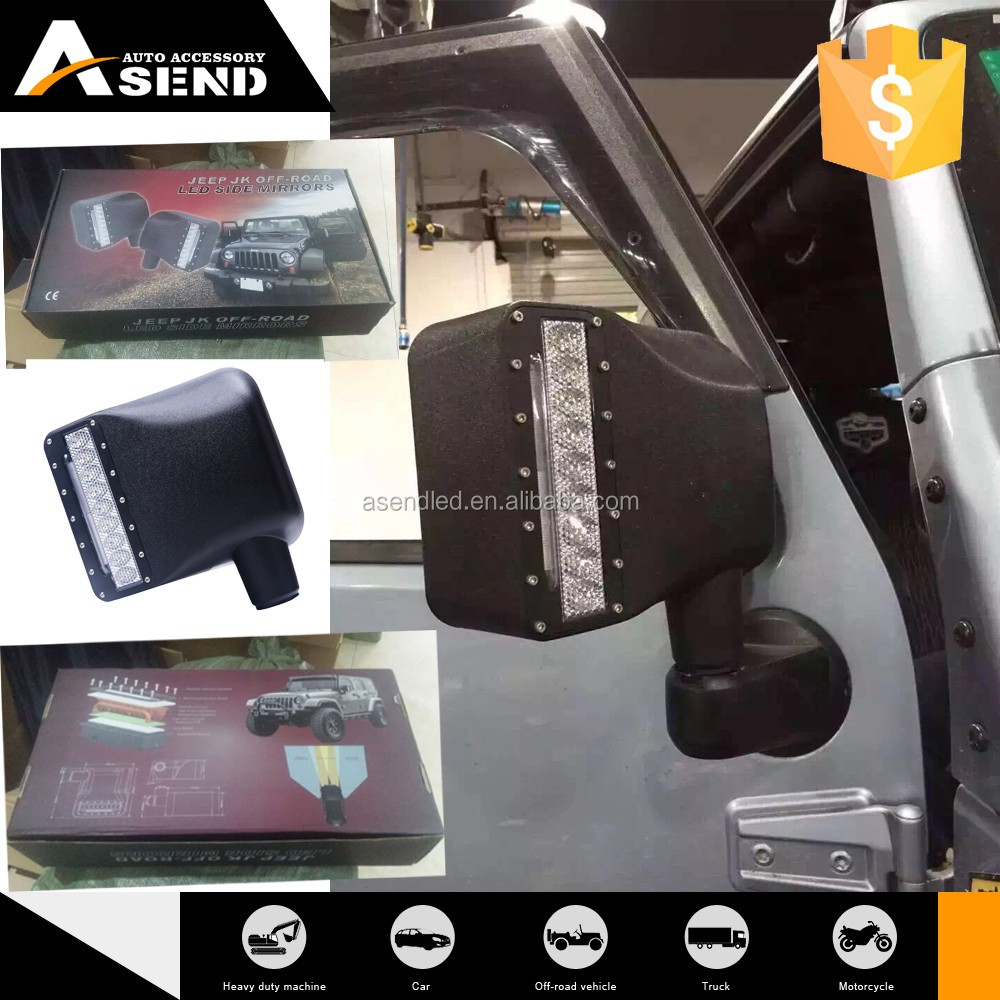 Offroad Led Side Rear View Mirror Turn Signal Lights