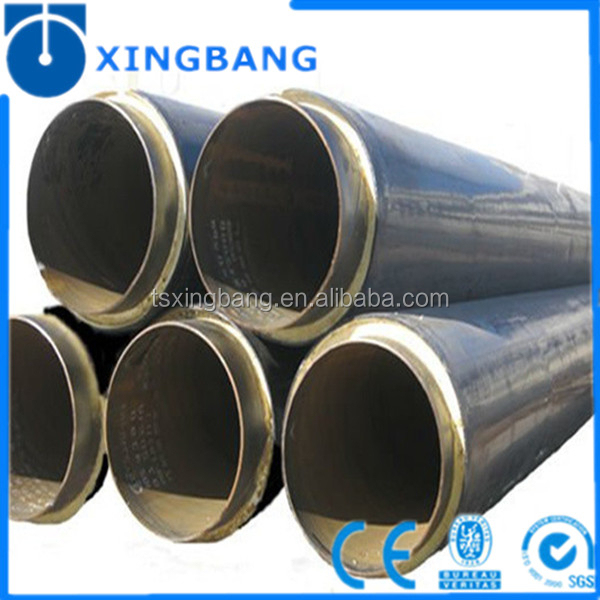 Pre Insulated Carbon Steel Pipe Jacket In Hdpe Plastic