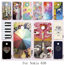 New protective phone case for Nokia Lumia 630 635 N630 N635 with DIY good selling hard painting different picture back housing