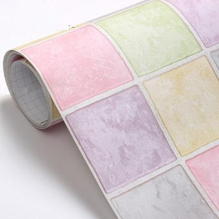 Bagni decal carte pvc mosaico wallpaper cucina adesivo di for Stickers per piastrelle cucina