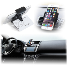 New car holder Car Air Vent Mount Stand phone Holder For Iphone4s 5s 6 plus for samsung s4 s5 s6 edge soporte movil Car GPS DVR
