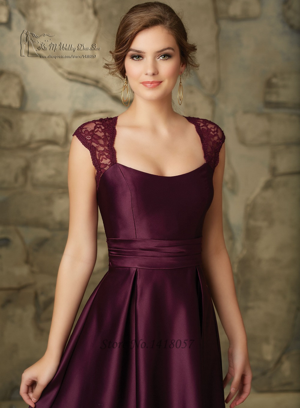 2f38f5de4dc Burgundy Bridesmaid Dresses With Sleeves Expensive Wedding