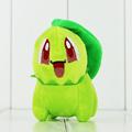 10cm Cute Green Chikorita Stuffed Plush Toys Chikorita Soft Animal Dolls For Kids Free Shippping