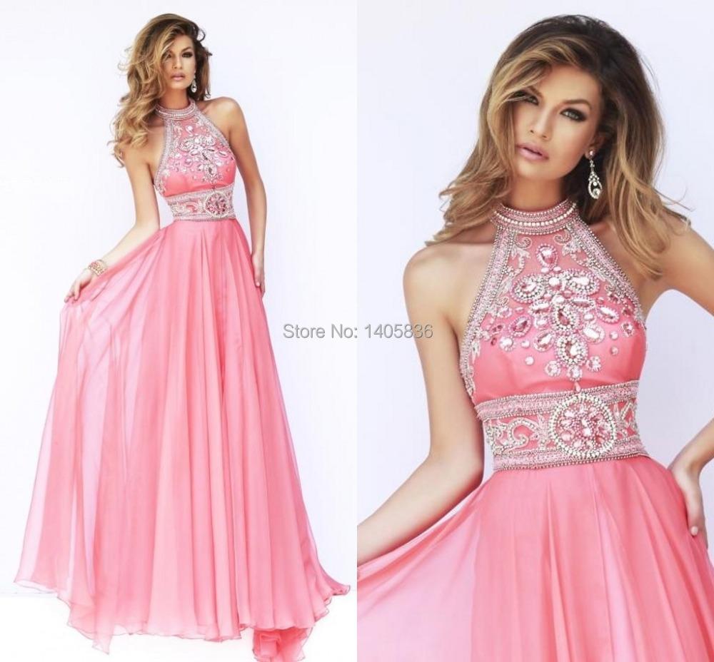 Aliexpress.com : Buy Long Pink Color Cheap Elegant Women ...