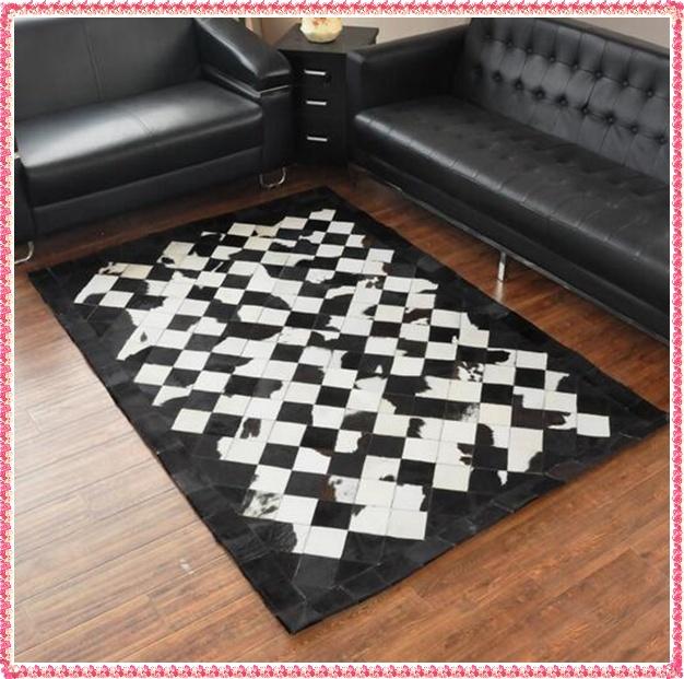 online kaufen gro handel rindsleder teppich aus china rindsleder teppich gro h ndler. Black Bedroom Furniture Sets. Home Design Ideas