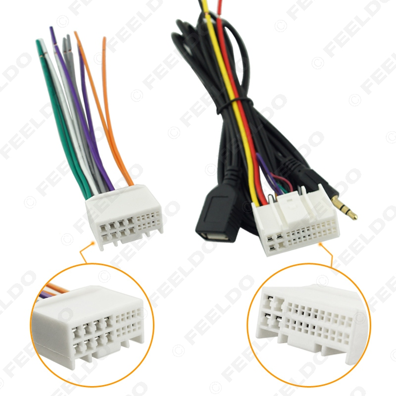 electrical wiring harness hyundai azera buy car audio cd stereo wiring harness adapter usb/aux ... hyundai wiring harness