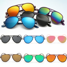 Fashion Boys Kids Coating Sunglasses Children Sun Glasses UV Protection Oculos De Sol Gafas Sun Glasses