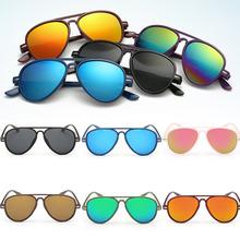 Fashion Boys Kids Coating Sunglasses Children Sun Glasses UV Protection Oculos De Sol Gafas Sun Glasses Boy lunette de soleil W1