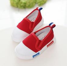 2016 new arrival children shoes boys girls shoes classic canvas shoes girls breathable kids loafers girls