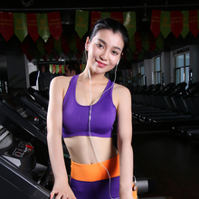 4ad4f203df Professional Breathable Shaped sports bras Shockproof quick-drying  underwear vest women running yogaYOGA GYM fitness