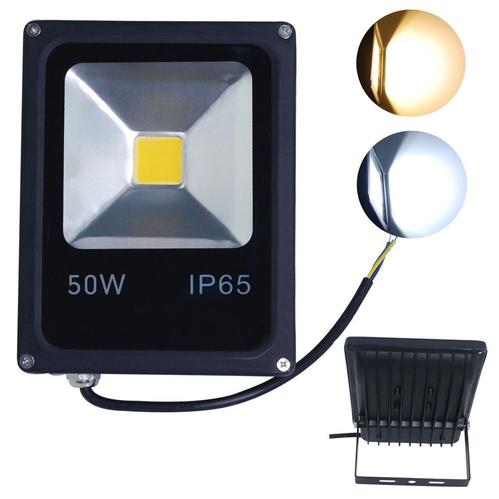 refletor led flood light 10w 20w 30w 50w 220v 240v waterproof ip65 foco projecteur cob led. Black Bedroom Furniture Sets. Home Design Ideas