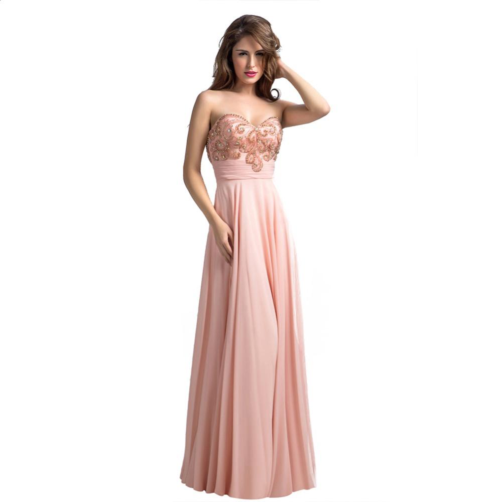 peach colour dress re18 light coral colored peach evening ...