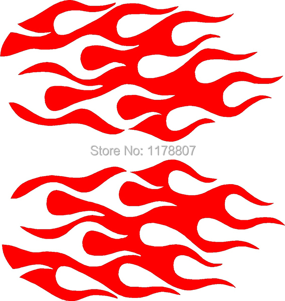 achetez en gros flammes decal en ligne des grossistes flammes decal chinois. Black Bedroom Furniture Sets. Home Design Ideas