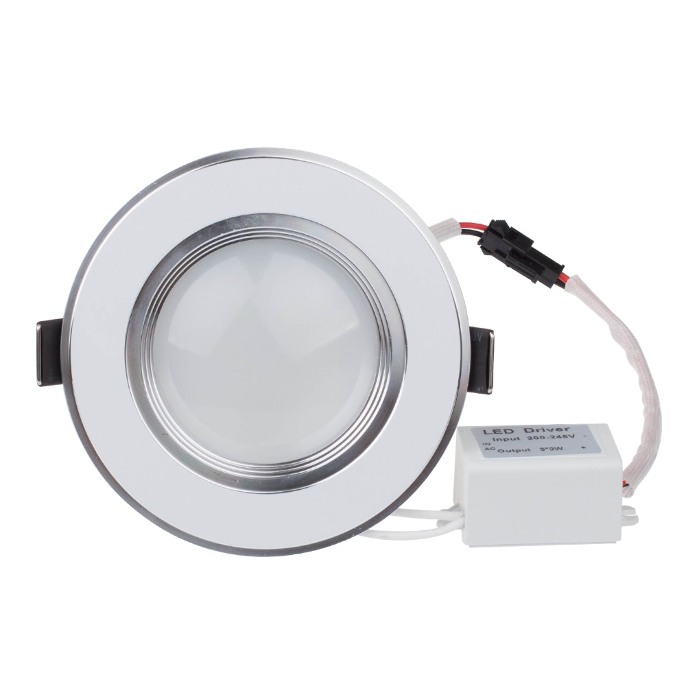 Free Shipping 3w Ultra Thin Dimmable Recessed Led Ceiling