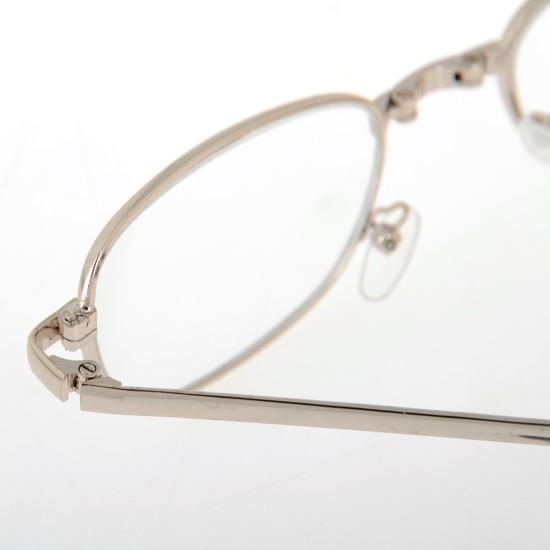 Мода классический портативный золотой металлический каркас складной очки для чтения с молнией чехол + 1 + 1.5 + 2 + 2.5 + 3 + 3.5 + 4.0