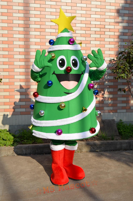 Christmas tree Mascot Costume Halloween christmas Party ...