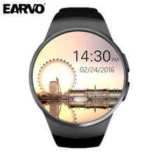 KW18 Bluetooth SIM G Sensor MTK2502C IPS LCD Heart Rate Monitor Pedometer Tracker Smartwatch Android font