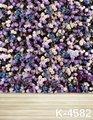 Romantic Wedding Couples Flowers Backdrops Digital Printing 5x7FT Wooden Flooring Backgrounds Newborn fondos estudio fotografico