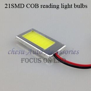 10 штук COB 21SMD рединг лёгкие с раковина соответствующие аксессуары интерфейс белый цвет в