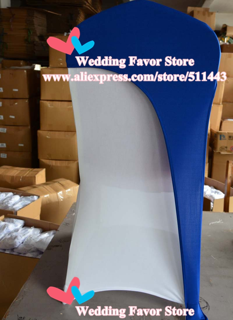 Wholesale Navy Blue Lycra Chair Cover Hoods Stretch