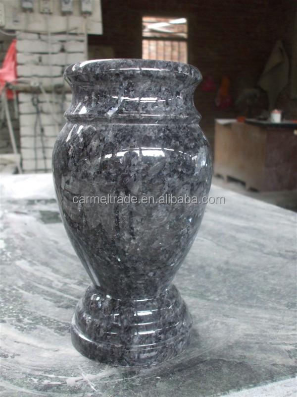 G654 Granite Headstone Flower Holder For Cemetery Usage
