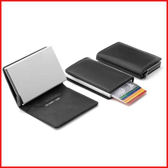 Perfect Mens Wallet No Breaking No Bending 16mm Flat Slim