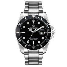 Элитный бренд Для мужчин Rolexable водонепроницаемые часы Нержавеющаясталь ремешок кварцевые часы мужской спортивный большой циферблат часы ...(Китай)