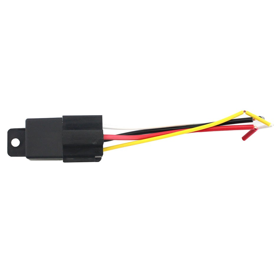 6 wire harness black red car alarm wire harness black