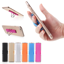 For Apple iPhone Finger Grip Elastic Band Strap Universal Phone Holder with Stand for Mobile Phones Tablets