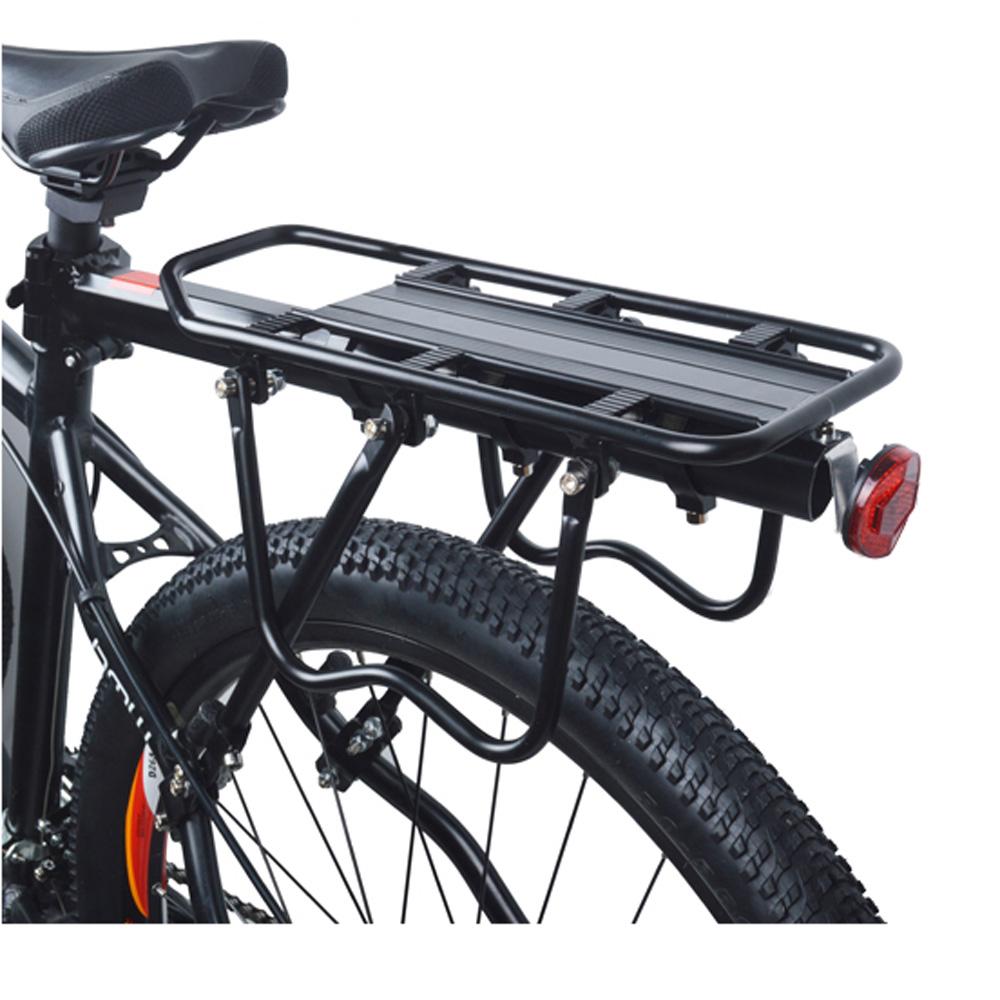 1 set universal max loading capacity bicycle bike rear seat luggage rack mountain bike bicycle. Black Bedroom Furniture Sets. Home Design Ideas