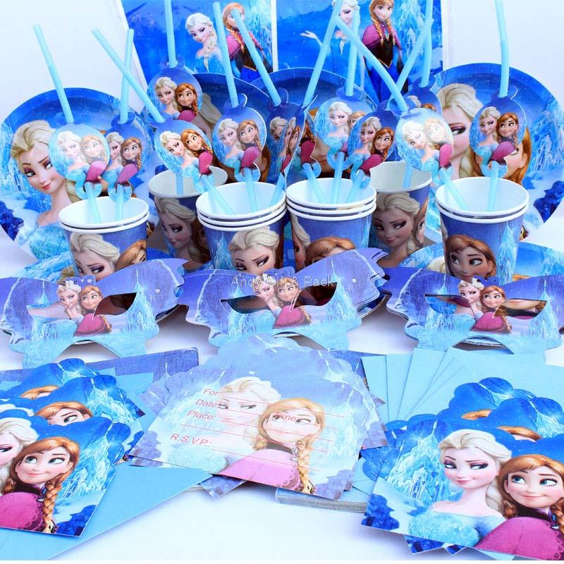 2019 12 People Kids Birthday Party Decoration, Girl Event