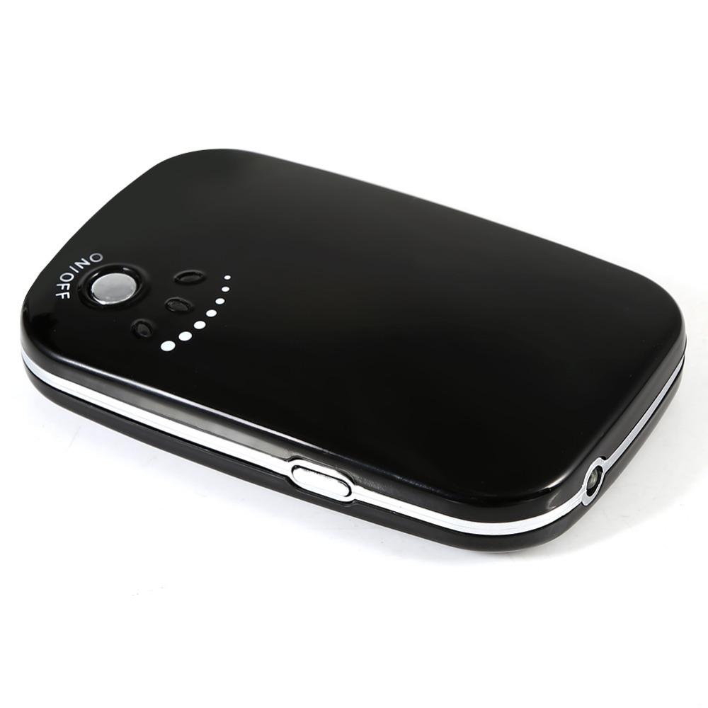 portable lectrique main chaude chauffe rechargeable led batterie externe usb chargeur de poche. Black Bedroom Furniture Sets. Home Design Ideas