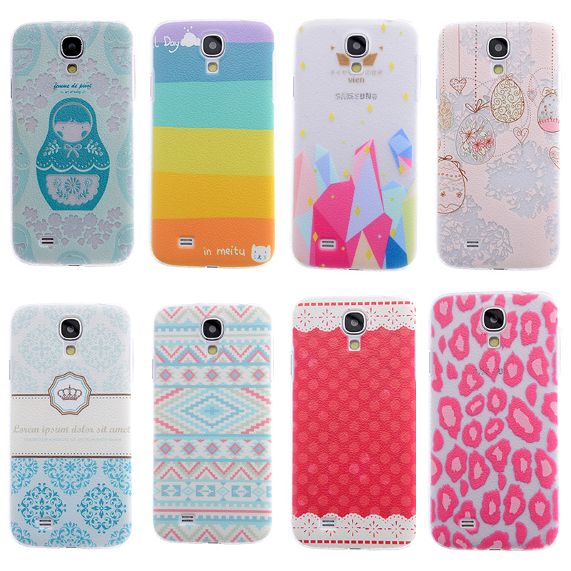 huge selection of ae8a9 a8b03 Case for Samsung Galaxy S4 IV litchi colored drawing Cover Free shipping  mobile phone bags & cases Brand New Arrive 2014
