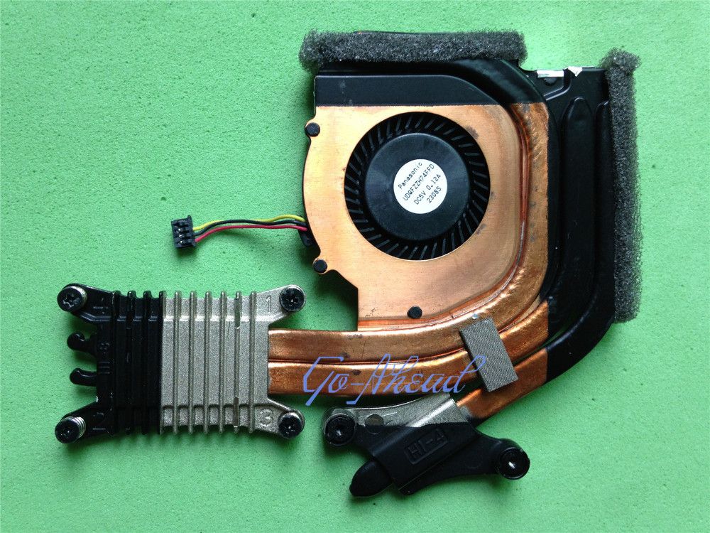 New Notebook CPU Cooling Cooler Fan & Heatsink For Lenovo ThinkPad T430s  T430 04W3487 0B51729AA By PANASONIC UDQFZZH74FFD