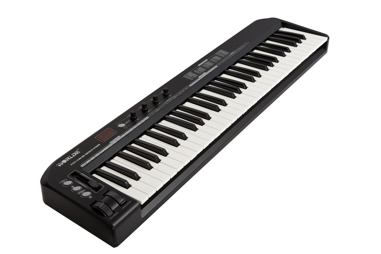 worlde ks61a midi25 49 key midi keyboard controller key music keyboard control inelectronic. Black Bedroom Furniture Sets. Home Design Ideas
