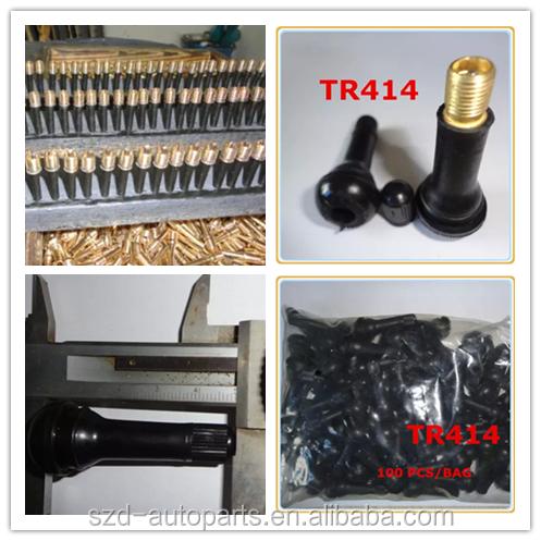tr414 schlauchlose reifen ventile nat rliche kautschuk autoreifen ventile snap in reifen. Black Bedroom Furniture Sets. Home Design Ideas
