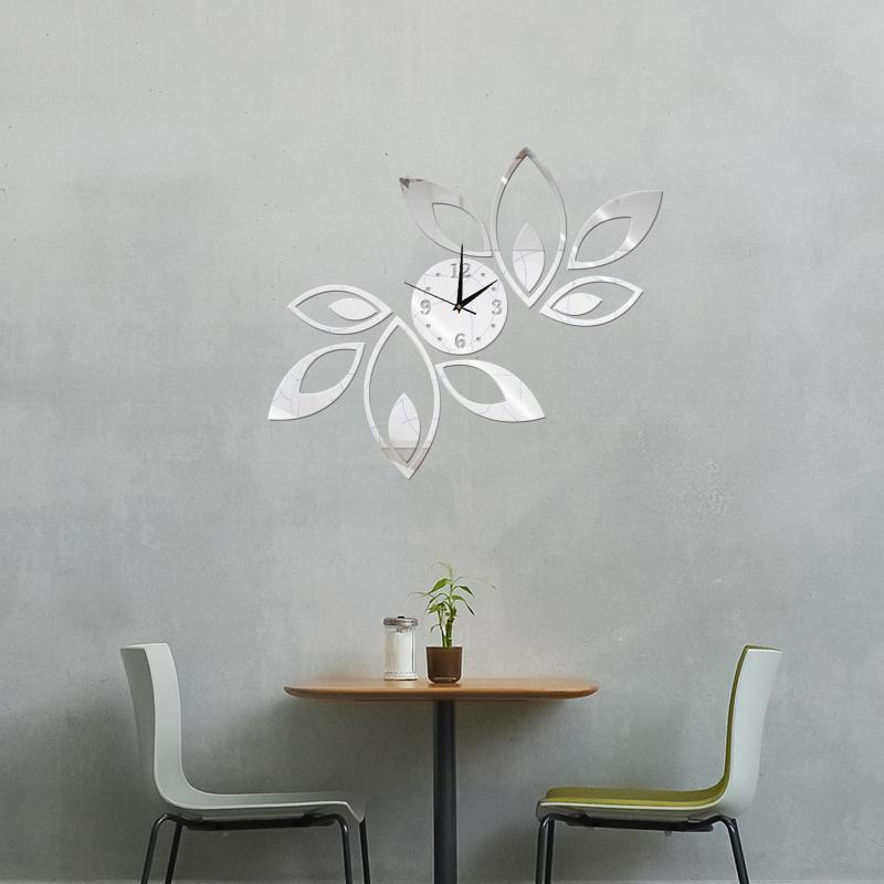 sticker murale horloge. Black Bedroom Furniture Sets. Home Design Ideas