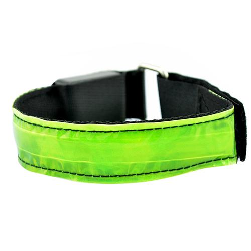 Из светодиодов безопасный отражающий блеск ремень ремешок накидка рука лента повязки для бег бег спорт 5R6I