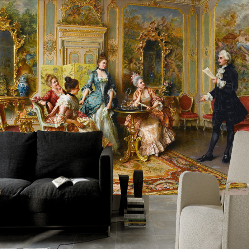 Popular Famous Paintings Wallpapers Buy Cheap Famous
