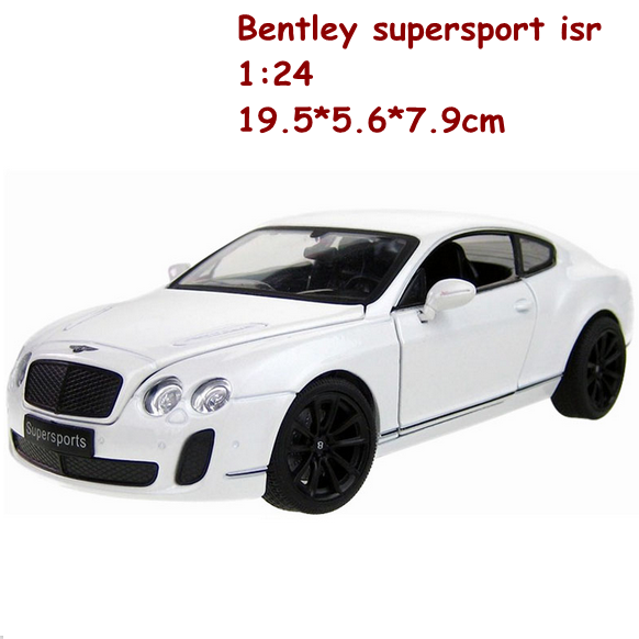 2016 New Alloy Diecast Model Cars 1:24 Scale Metal Kids