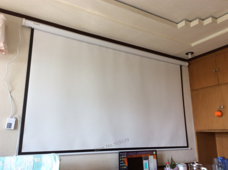 Electric Projection Screen Pic 8