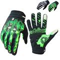 RIGWARL Bone Design Cycling Gloves Full Finger Touch Screen GEL Skeleton Breathable Gloves Motorbike Guantes Moto