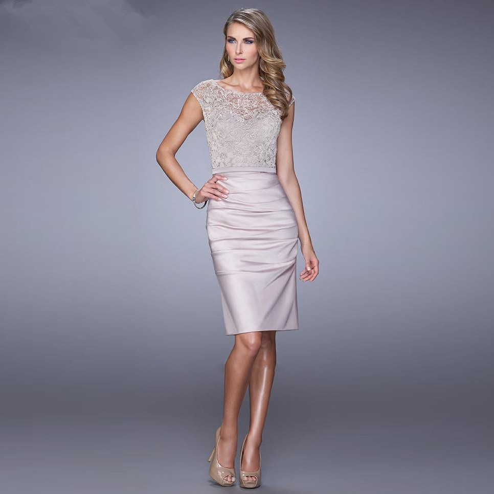 Lace Wedding Guest Dresses: 2015-New-Arrival-Elegant-Mother-of-the-Bride-Dresses-Lace