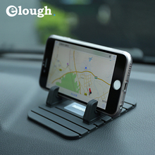 Remax car phone holder Soft Silicone Anti Slip Mat mobile phone mount stands Bracket for iphone samsung htc huawei xiaomi LG 6