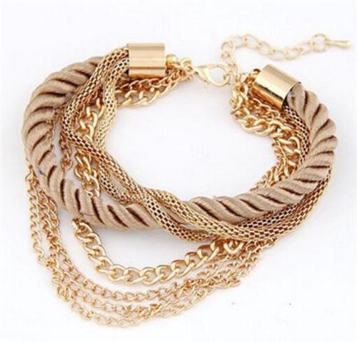 2016 NEW Fashion Design Girl Jewelry Handmade Bracelets For Women Charm Bangle Wholesale Free Shipping Bracelet