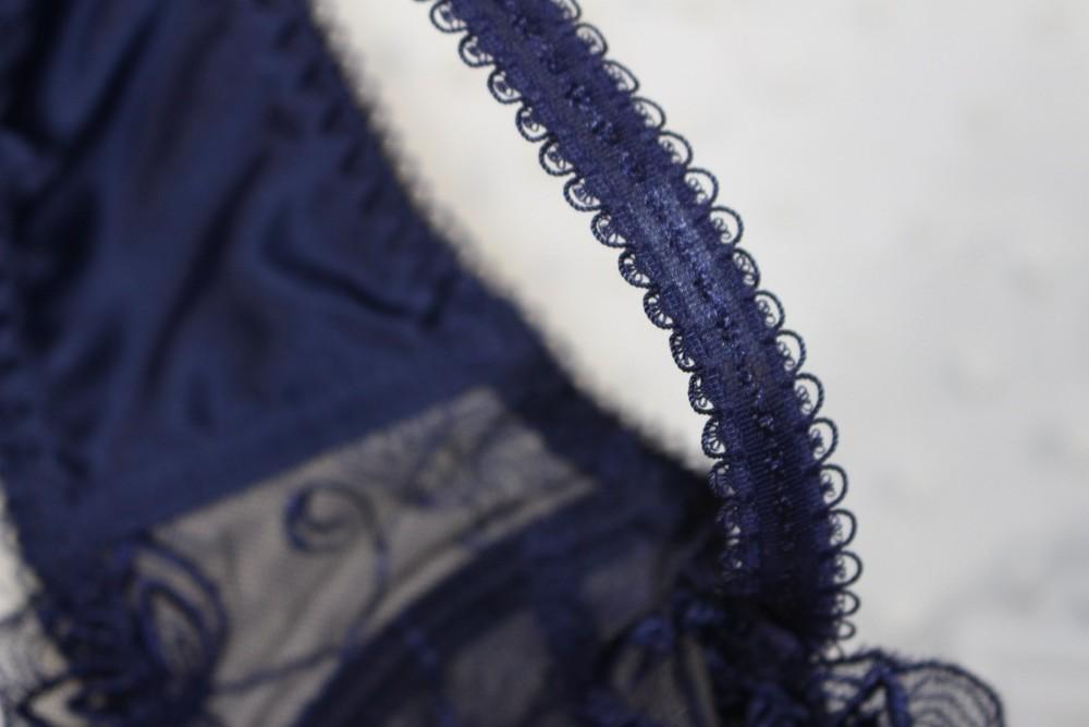 נשים סקסי שקוף חזיית תחרה לדחוף את החזייה בחזרה סגר מותאם רצועת החזייה & קצר סטים