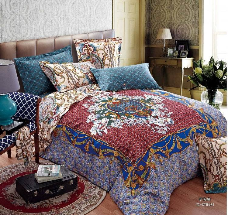 Hotel Collection King Size Quilts: 100% Egyptian Cotton Luxury Hotel Bedding Comforter Set