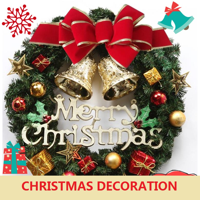 Low Price Christmas Decorations: Compare Prices On Luxury Christmas Wreath- Online Shopping